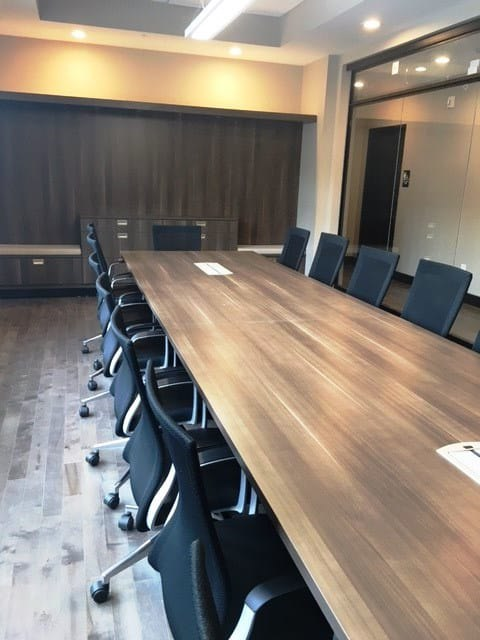 Midwest Railcar Corporation conference room seating