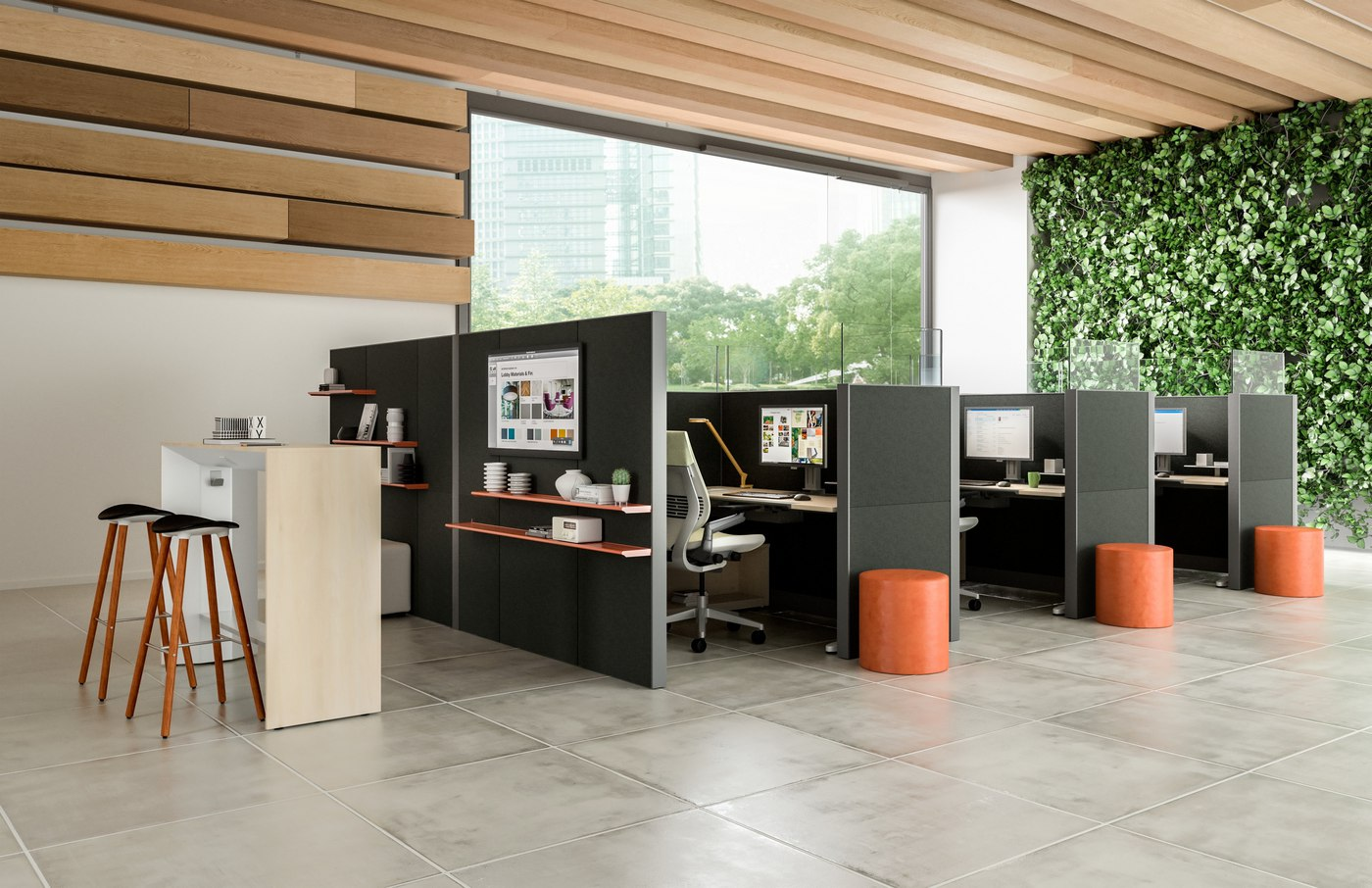 Steelcase Answer panel system